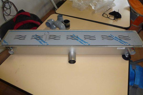 Récupérateur de chaleur pour douche